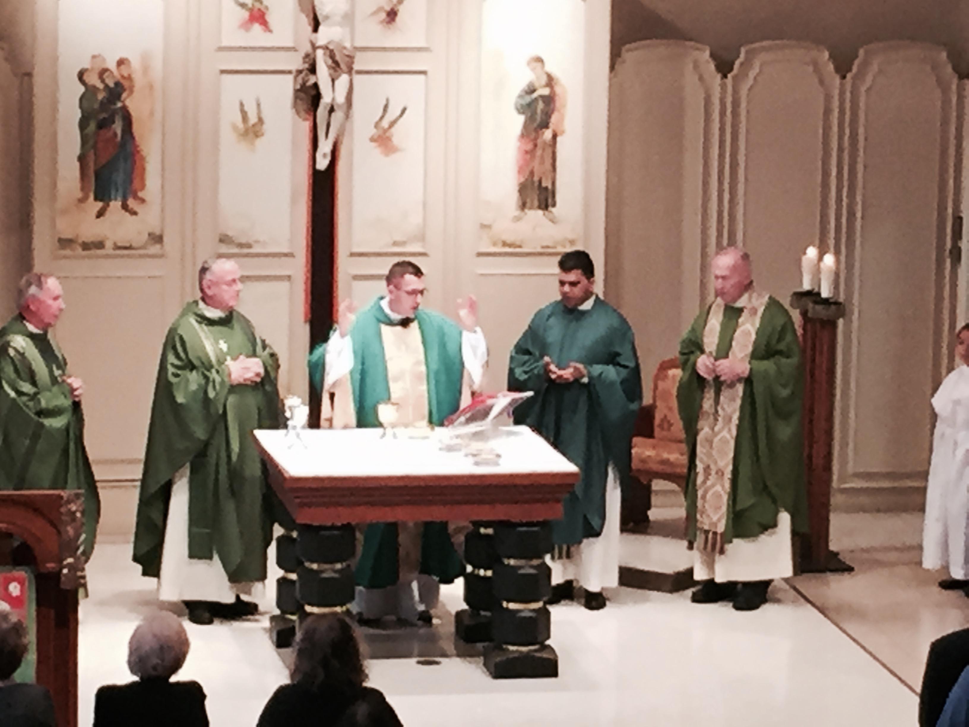 Fr. Dariusz's Farewell Mass – June 26, 2016