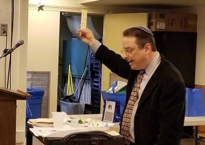 Model Seder at DWCA 1