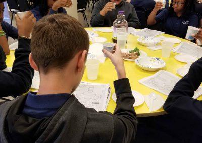Model Seder at DWCA 4