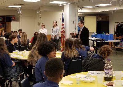 Model Seder at DWCA 5